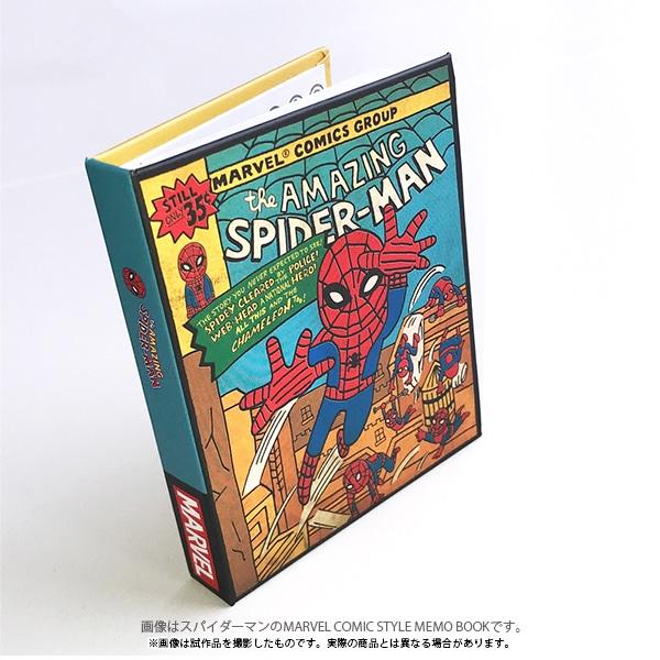 マーベル・コミック MARVEL COMIC STYLE MEMO BOOK キャプテン・アメリカ
