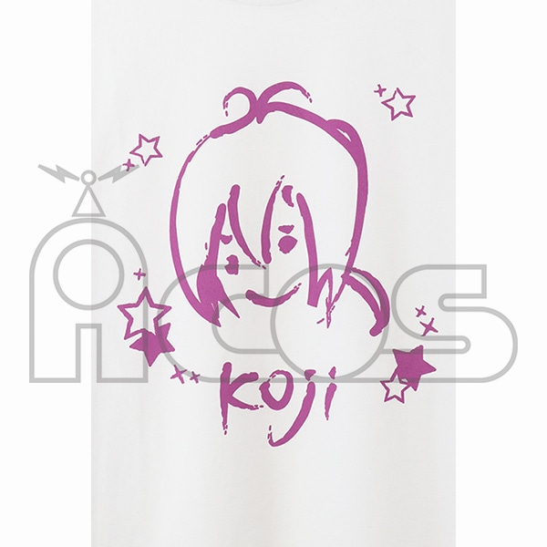KING OF PRISM -Shiny Seven Stars- クレヨン風アートTシャツ 神浜コウジ