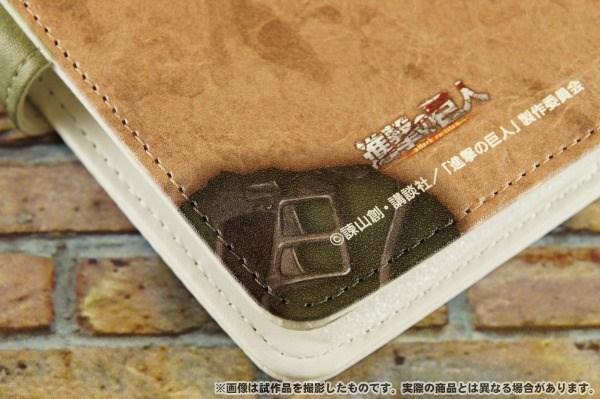 進撃の巨人  手帳型スマートフォンケース リヴァイ
