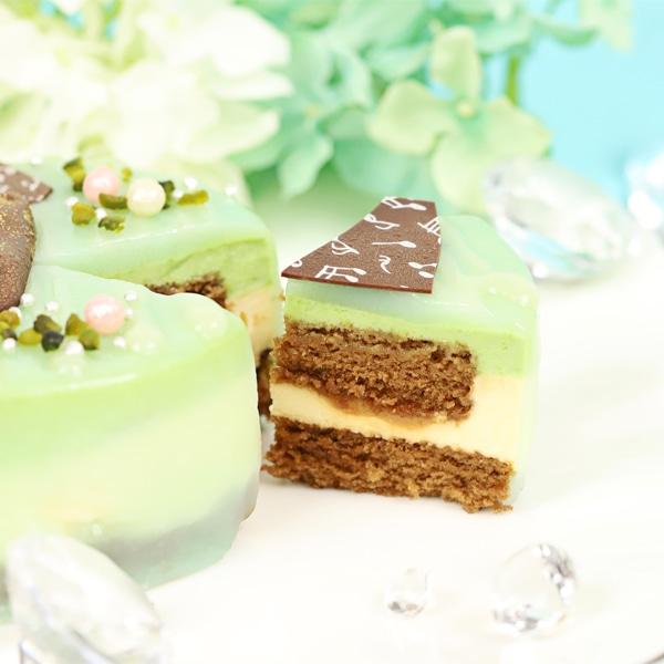 ツキウタ。 ガトールーレコラボケーキ 夏セット(水無月涙、文月海、葉月陽のケーキのセット)