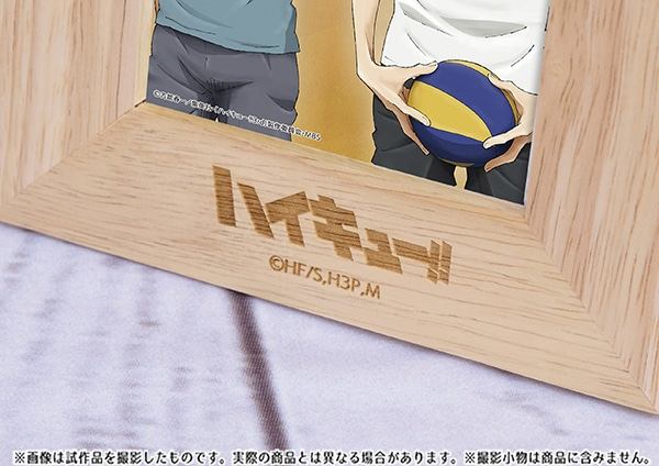 ハイキュー!! 烏野高校 VS 白鳥沢学園高校 フォトフレーム 血縁シリーズ(月島)