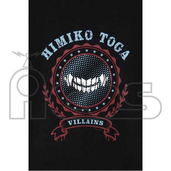 僕のヒーローアカデミア Tシャツ トガヒミコモデル