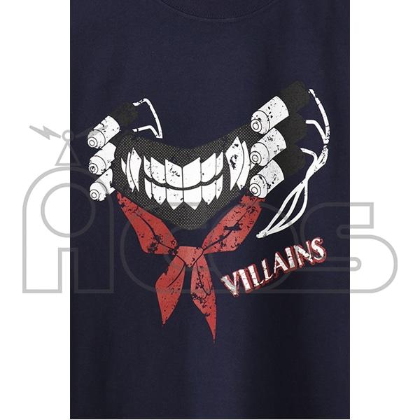 僕のヒーローアカデミア 敵<ヴィラン>Tシャツ トガヒミコ