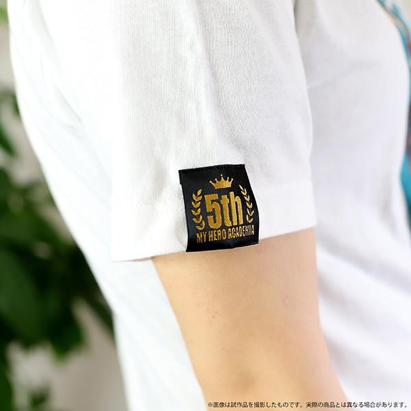 僕のヒーローアカデミア Tシャツ 5周年 爆豪