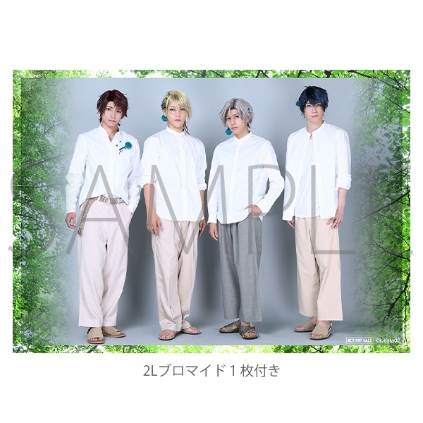 「ALIVESTAGE」Episode 2 Plant pendant( Episode02〜浅葱〜) 2Lブロマイド1枚付き(集合写真2Lサイズ):Growth
