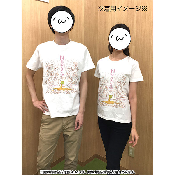 北海の魔獣あざらしさん Tシャツ 男性Sサイズ(専用描き下ろし ハト)【受注生産限定商品】