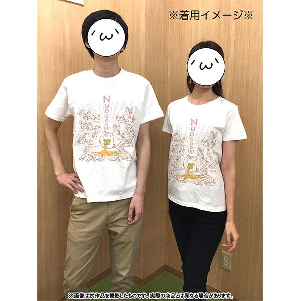 北海の魔獣あざらしさん Tシャツ 男性Mサイズ(専用描き下ろし ハト)【受注生産限定商品】
