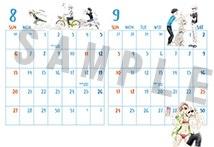 MAPPAオリジナル ユーリ!!! on ICE 描き下ろしカレンダー