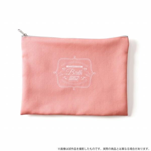 【受注生産】華Doll*「Flowering」メモリアル フラットポーチ Birth ver.
