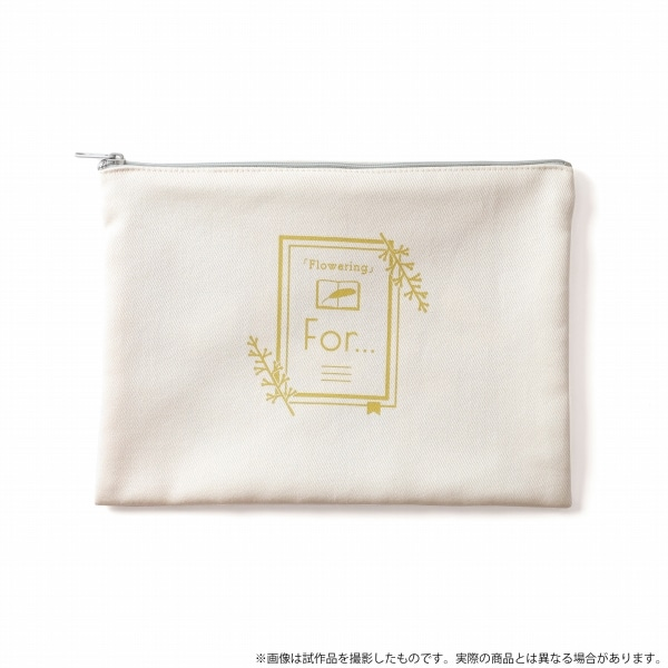 【受注生産】華Doll*「Flowering」メモリアル フラットポーチ For... ver.