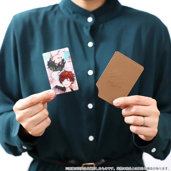【受注生産】華Doll*「Flowering」メモリアル カード型ミラー&ケース 理人・チセ