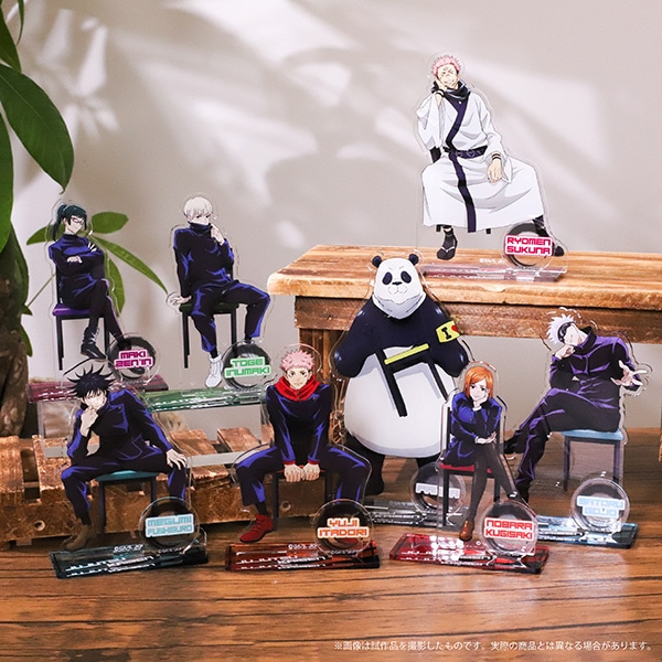 呪術廻戦 アクリルスタンド 釘崎 野薔薇 椅子シリーズ 描き下ろし