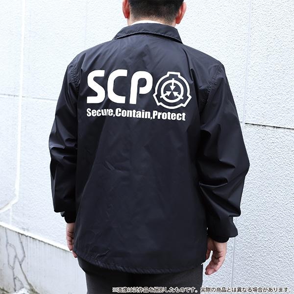SCP財団 コーチジャケット【再販分】