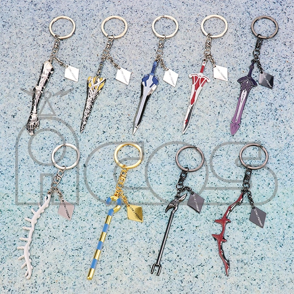 Fate/Grand Order -神聖円卓領域キャメロット- 武器キーホルダー トリスタン