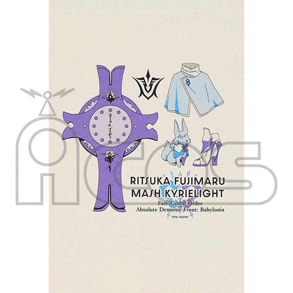 Fate/Grand Order -絶対魔獣戦線バビロニア- トートバッグ 藤丸立香&マシュ・キリエライト