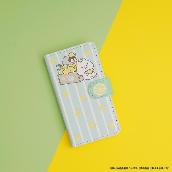 ねこぺん日和 手帳型スマートフォンケース