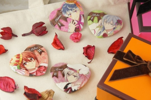 アイドリッシュセブン キャラバッジコレクション バレンタイン