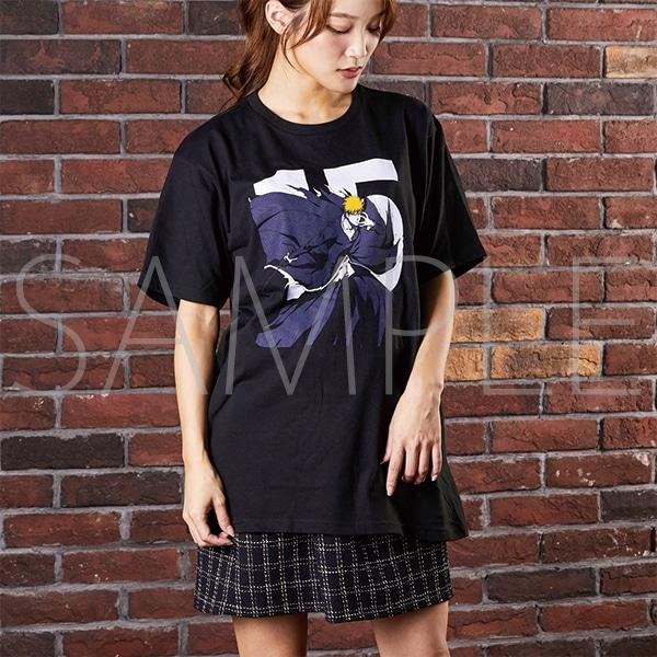 『BLEACH Brave Souls Museum』通信販売 BLEACH Brave Souls Tシャツ 黒崎一護 L