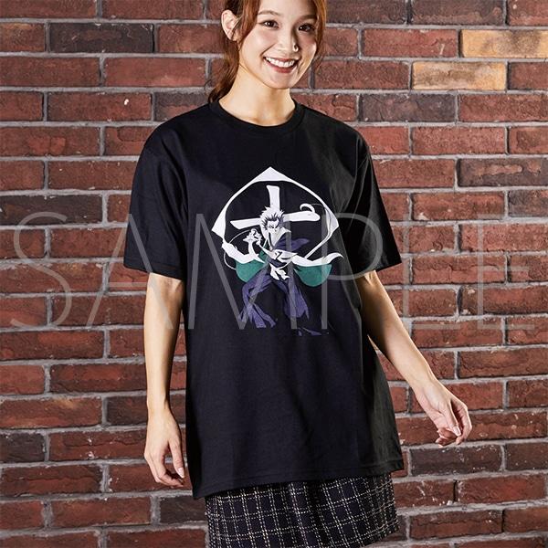 『BLEACH Brave Souls Museum』通信販売 BLEACH Brave Souls Tシャツ 日番谷冬獅郎 XL