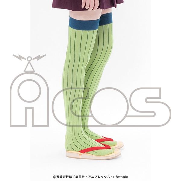 鬼滅の刃 甘露寺蜜璃の靴下
