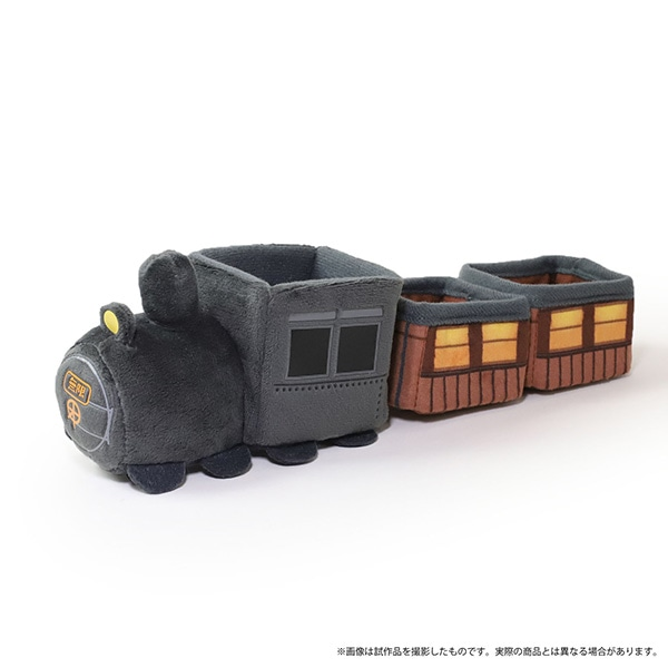 劇場版「鬼滅の刃」無限列車編 まめトレイン(まめめいとの乗り物) 無限列車 連結パーツ