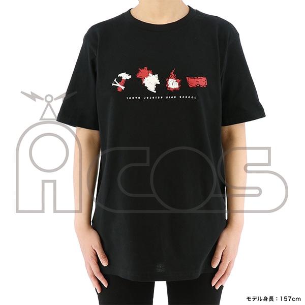 呪術廻戦 モチーフTシャツ 虎杖・伏黒・釘崎・五条