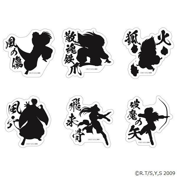 犬夜叉-アニメの軌跡展- ステッカーセットA