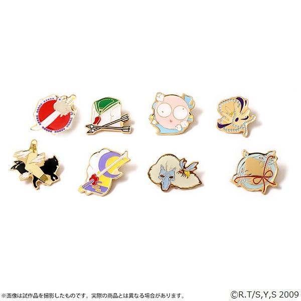 【BOX】犬夜叉-アニメの軌跡展- ピンズコレクション(全8種)