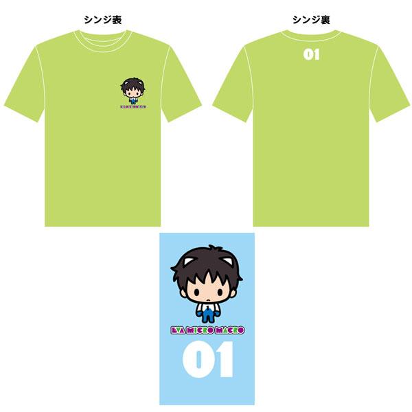 EVANGELION micro macro Tシャツ シンジ M