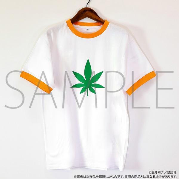 シャーマンキング展ゴーイング出雲開催記念通販 葉のヘンプTシャツ ver.2 L
