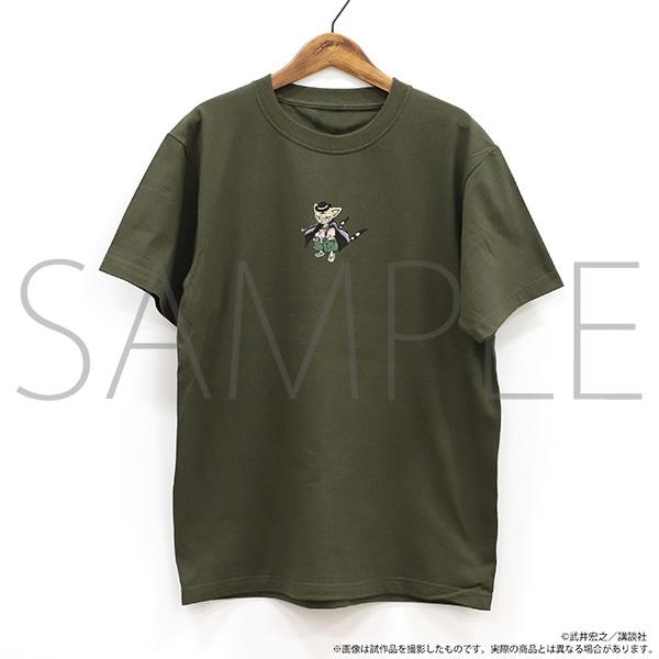 シャーマンキング展ゴーイング出雲開催記念通販 刺繍Tシャツ