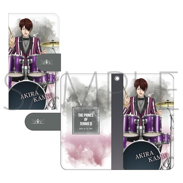 新テニスの王子様 手帳型スマートフォンケース 神尾アキラ