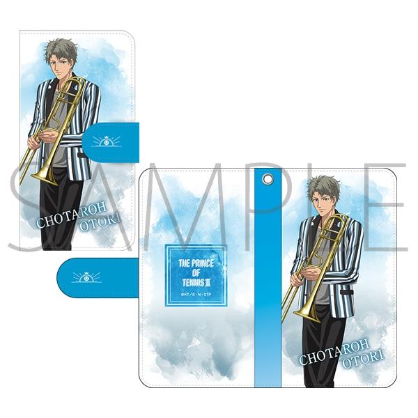 新テニスの王子様 手帳型スマートフォンケース 鳳長太郎