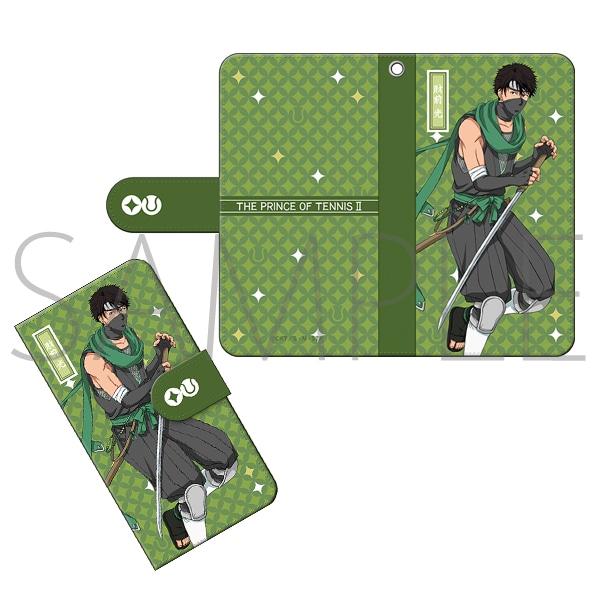 新テニスの王子様 手帳型スマートフォンケース 財前光