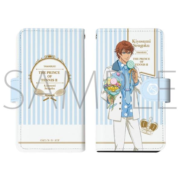 新テニスの王子様 手帳型スマートフォンケース 千石清純