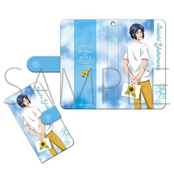 【テニプリスト限定】新テニスの王子様 手帳型スマートフォンケース 幸村精市