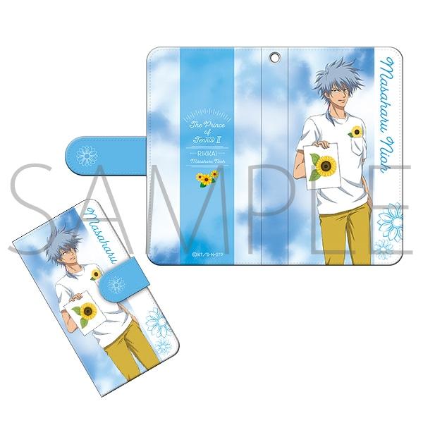【テニプリスト限定】新テニスの王子様 手帳型スマートフォンケース 仁王雅治