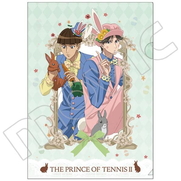 新テニスの王子様 クリアファイル 新渡米&喜多