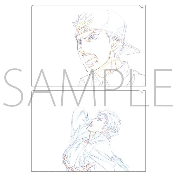 【テニプリスト限定】新テニスの王子様 クリアファイルセット 宍戸・鳳(BEST GAMES!!)