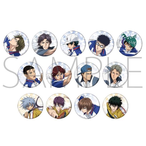 新テニスの王子様 キャラバッジコレクション BEST GAMES!!