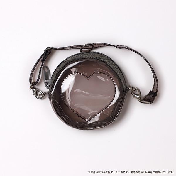 痛めいと MiMi-pochette(ミミ・ポシェット) クリアハートブラック