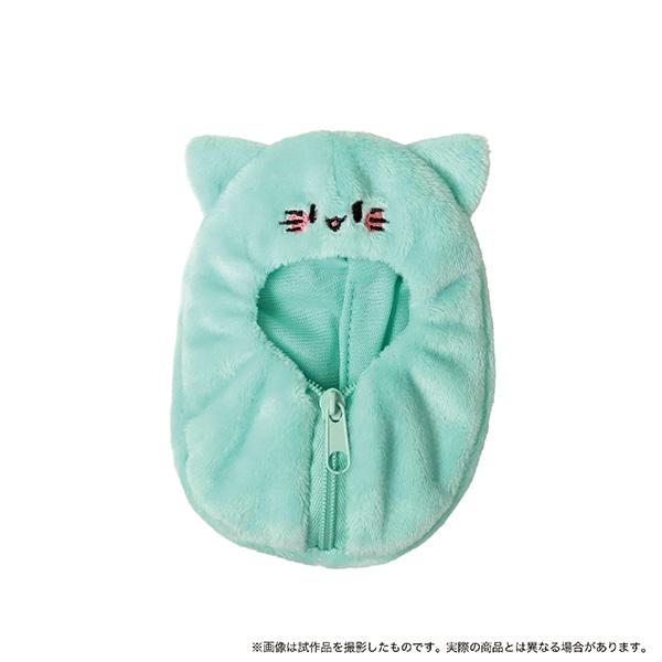 パペラの着ぐるみ 薄緑猫