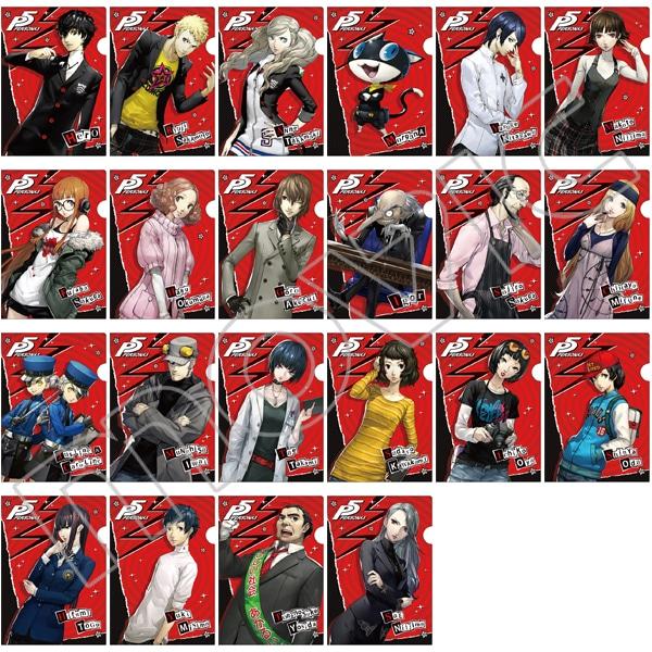 ムービックペルソナ5 ミニクリアファイルコレクション キャラ
