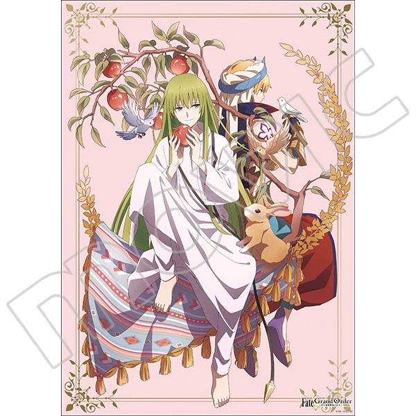 Fate/Grand Order -絶対魔獣戦線バビロニア- ミニクリアポスター ギルガメッシュ&エルキドゥ