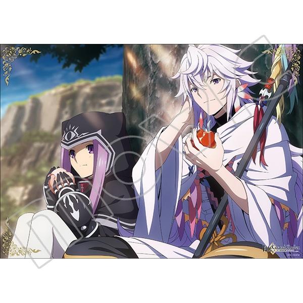 Fate/Grand Order -絶対魔獣戦線バビロニア- ミニクリアポスター マーリン&アナ