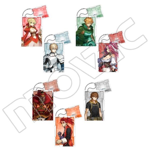 Fate/EXTELLA LINK スタンド付アクリルキーホルダーコレクション Vol.1