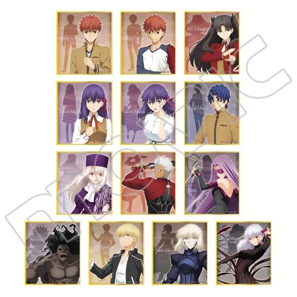 劇場版「Fate/stay night[Heaven's Feel]」 スタンド付きミニ色紙コレクション