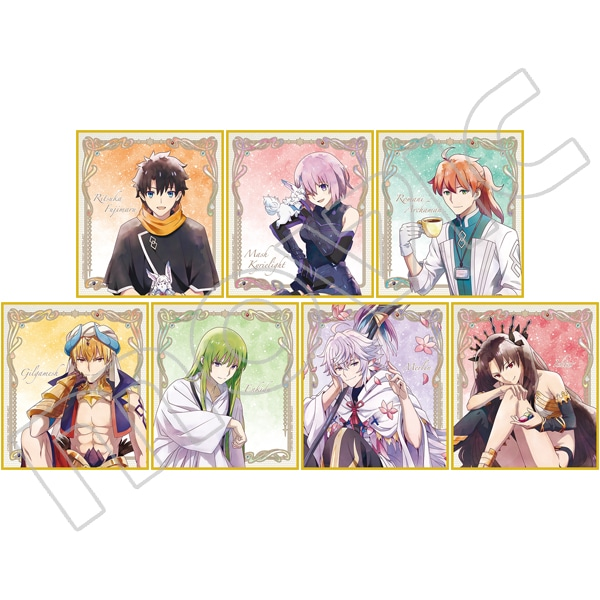 Fate/Grand Order -絶対魔獣戦線バビロニア- スタンド付きミニ色紙コレクション
