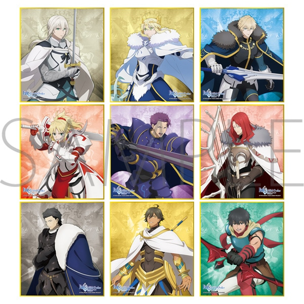 Fate/Grand Order -神聖円卓領域キャメロット- ミニ色紙コレクション