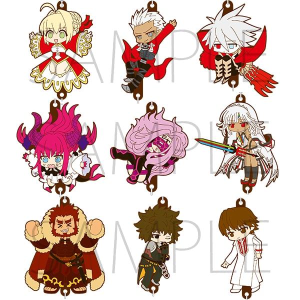 Fate/EXTELLA ラバーストラップコレクションA